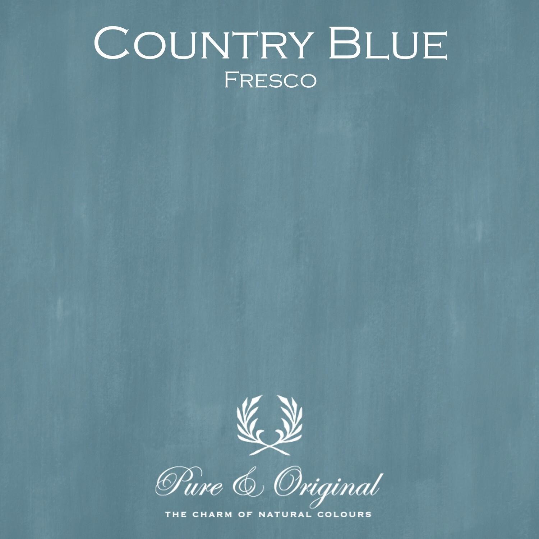 Country Blue Fresco