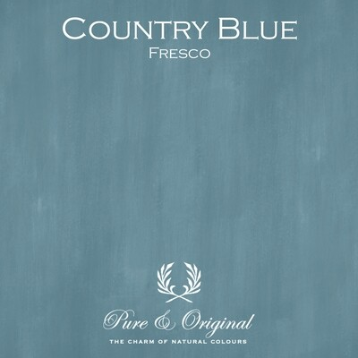 Country Blue Fresco