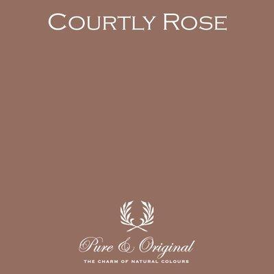 Courtly Rose Fresco