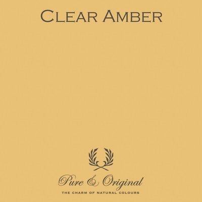 Clear Amber Carazzo