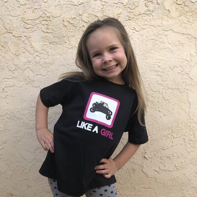 SXS Like A Girl Tee (Toddler)