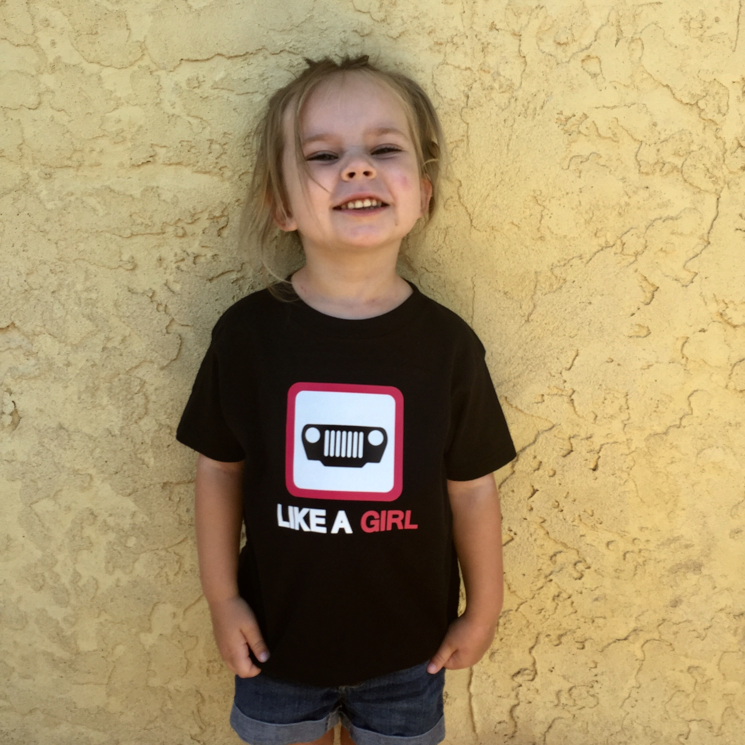 JEEP Like A Girl Tee (Toddler)