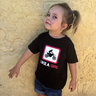 MX Like A Girl Tee (Toddler)