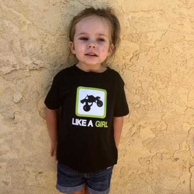 4 LINK Like A Girl Tee (Toddler)