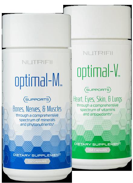 Optimals (Optimal-V™ x 1 Optimal-M™ x 1)
