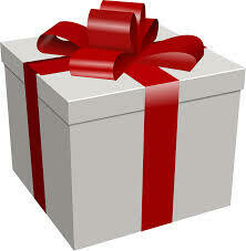 This Gift is on Fire Christmas Package