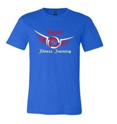 Super Fitness Training Logo Tee