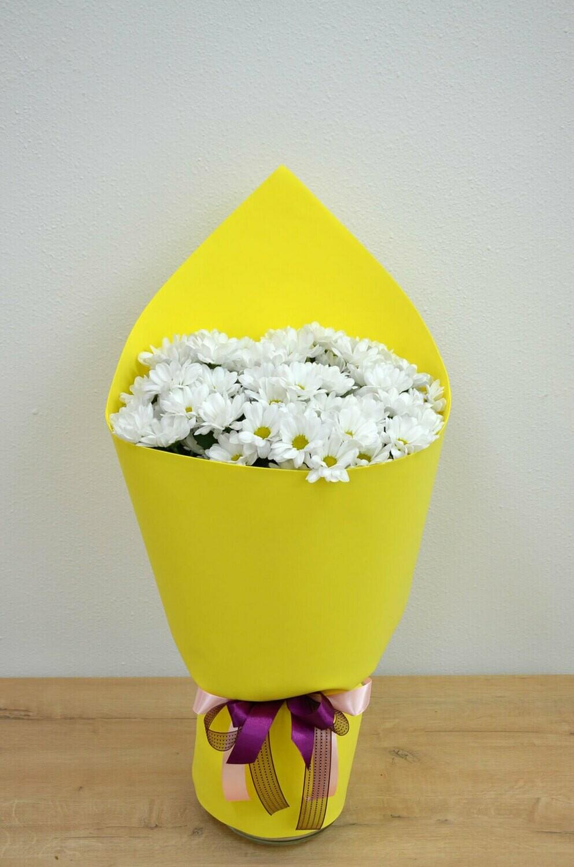 Бyкет из хризантемы