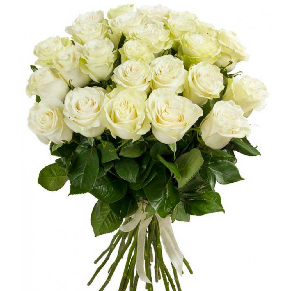 """Букет из 9 роз """"Мондиаль"""" 70 см высотой"""