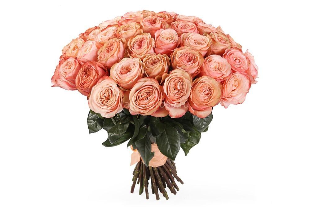 """Букет из 9 роз """"Кахала"""" 60 см высотой"""