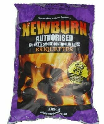 Newburn Smokeless Ovals 40 x 25kg bags NB-40x25kg