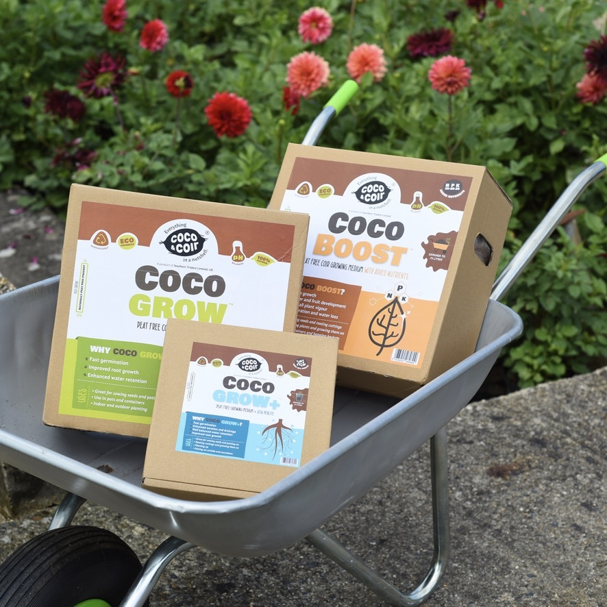 75 Litre Peat Free Eco Compost - Coco Grow 5kg