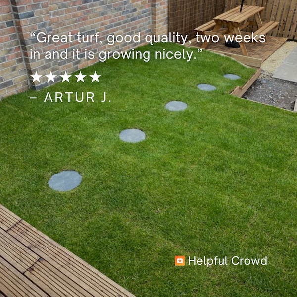 Lawn Master Turf  -  FROM £3.06 per m²