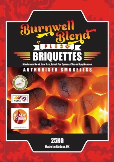 Burnwell Blend PLUS+ 40 x 25kg Bags
