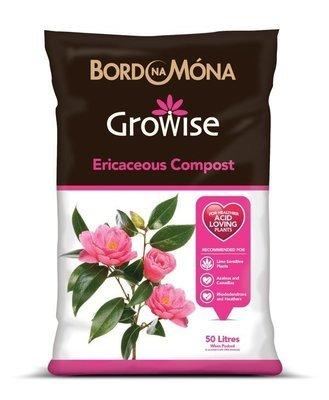 Ericaceous Compost (Growise) 50 Litre Bags BNM-9632D