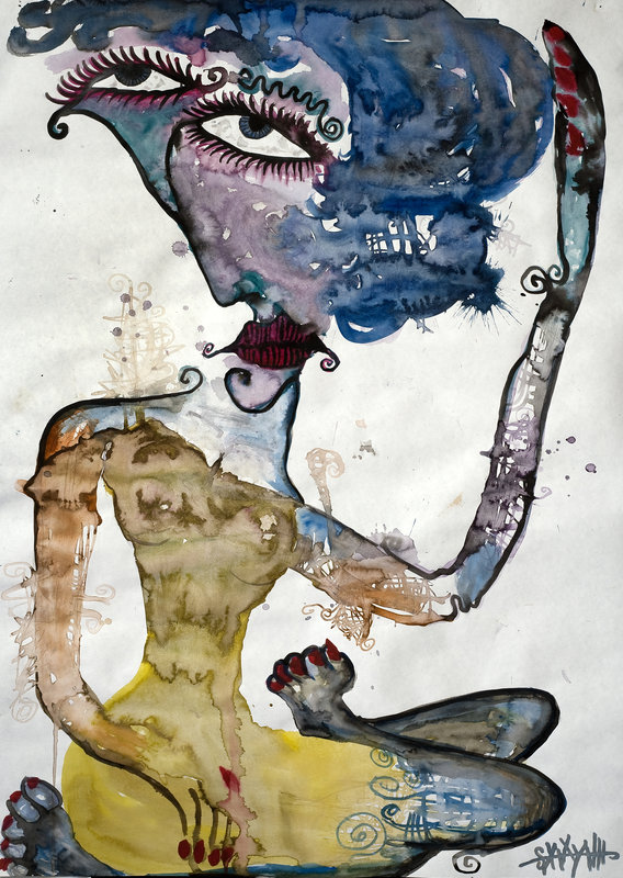 Wild Women Zoey Limited Edition Signed Print