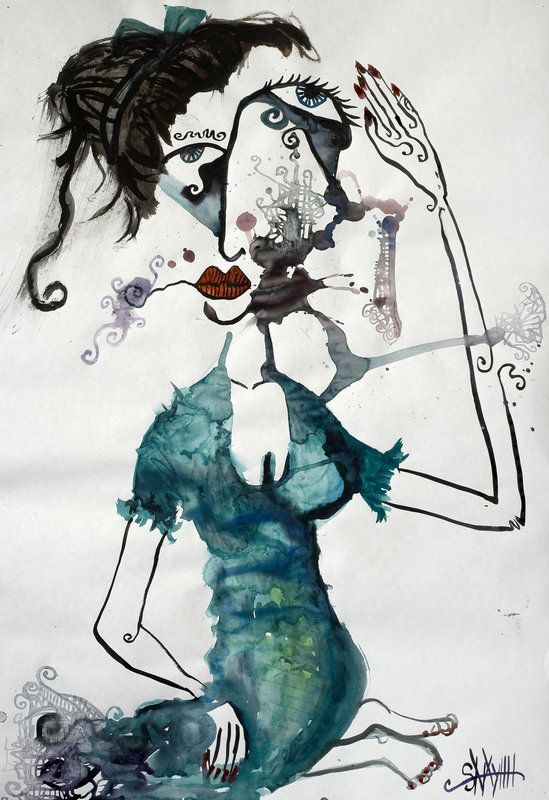 Wild Women Michelle Limited Edition Signed Print