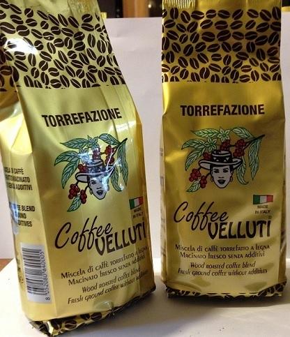 """N. 2 Pacchetti di Caffè Oro da 250 gr. cadauno Macinato per macchinetta """"Moka"""" (grinded coffee)"""