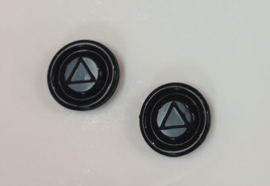 Panther Buttons (Pair) For Switch Assemblies