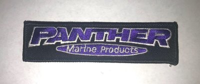 Panther Embroidered Patch - 1