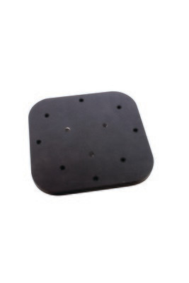 Anglers Pal Humminbird & Lowrance Anodized Aluminum Mounting Plate, 4 1/2