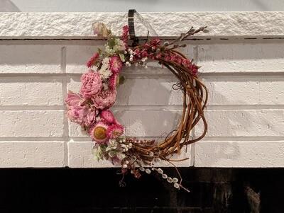 Dried Flower Wreath