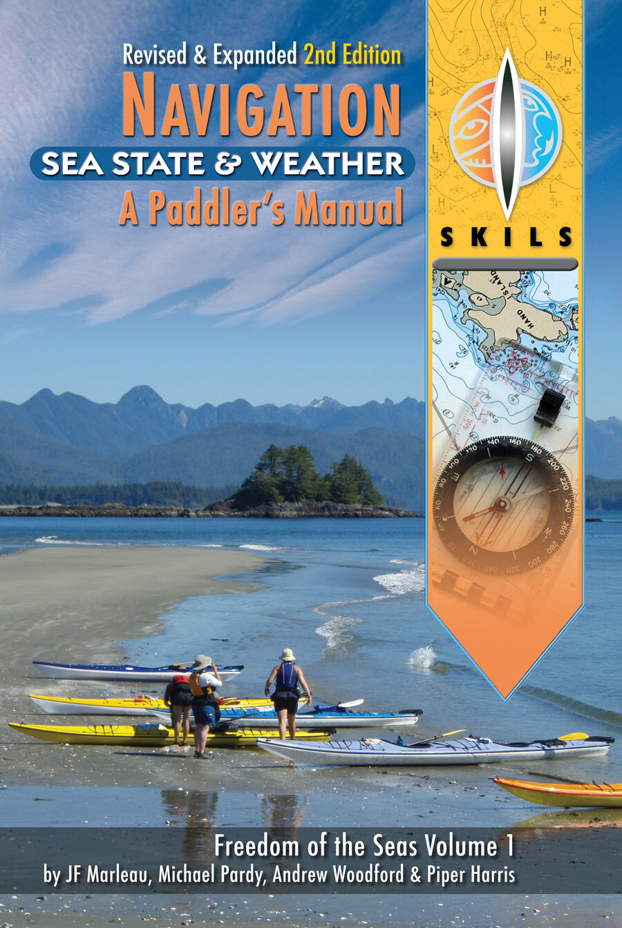 Navigation, Sea State, Weather -A Paddler's Manual.  Freedom of the Seas Volume 1. 2020. Second Edition (Paperback). Available January 8, 2021.