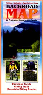 Backroad Map and Outdoor Recreation Guide SOLD OUT!