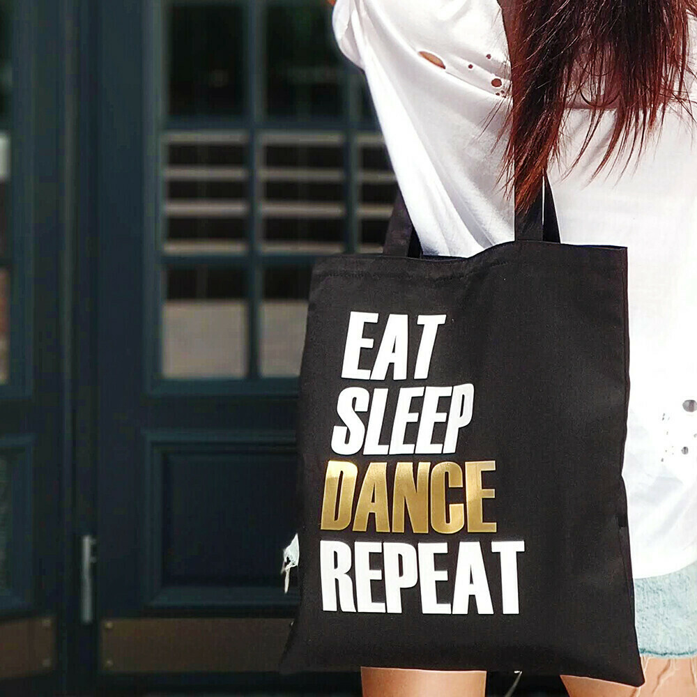 Еко-сумка «Market» Eat, sleep, dance, repeat
