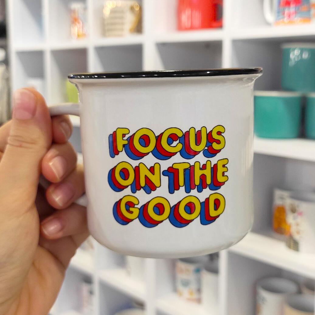 Горнятко-кемпер (з принтом) Focus on the good
