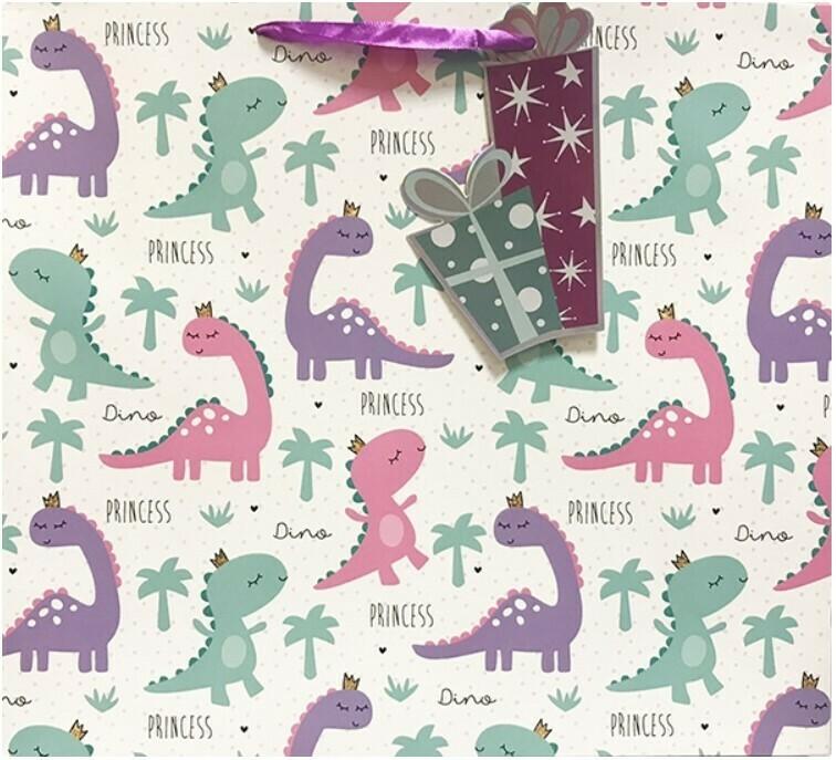 Пакет 36х32х12 «Динозаврики»