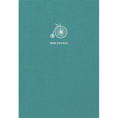 Зошит «Travel book», клітинка. A5 (бірюз).