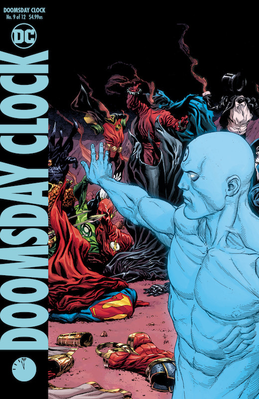 DOOMSDAY CLOCK #9 (OF 12) VARIANT EDITION
