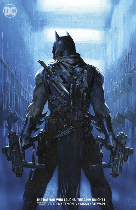 BATMAN WHO LAUGHS THE GRIM KNIGHT #1 VARIANT EDITION