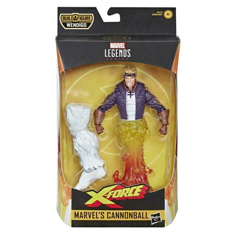 X-Force Marvel Legends Marvel's Cannonball (Wendigo BAF)