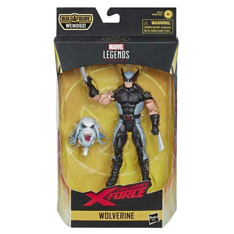 X-Force Marvel Legends Wolverine (Wendigo BAF)