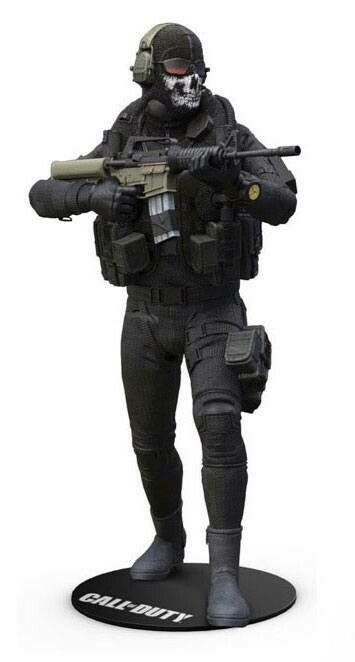 Call of Duty Action Figure Simon 'Ghost' Riley