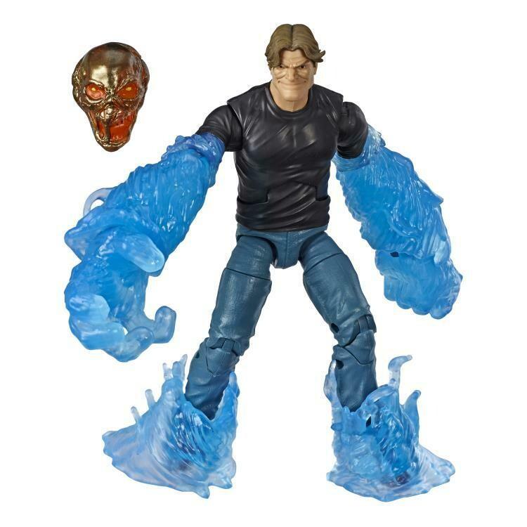 Spider-Man Marvel Legends Hydro-Man (Molten Man BAF)