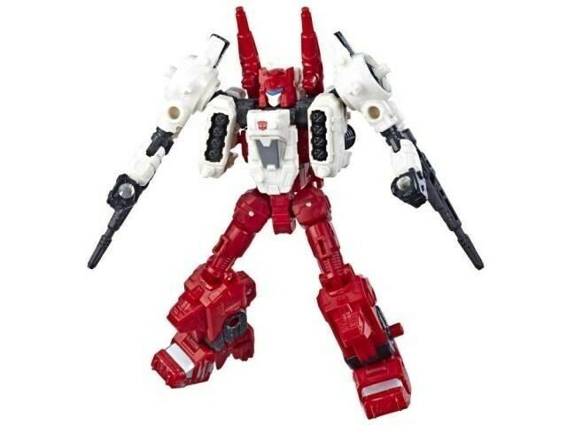 Transformers Siege War For Cybertron Deluxe Sixgun