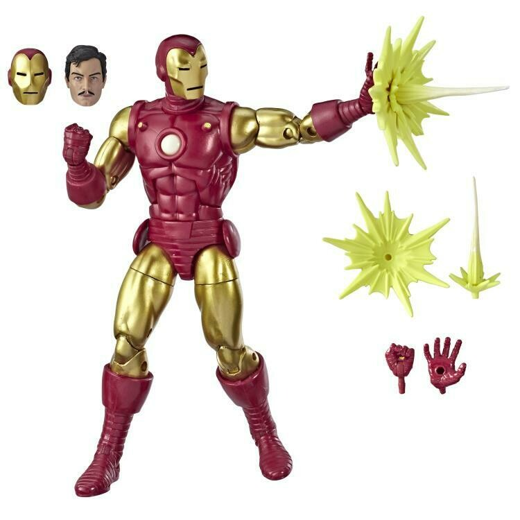 Marvel Comics 80th Anniversary Marvel Legends Iron Man