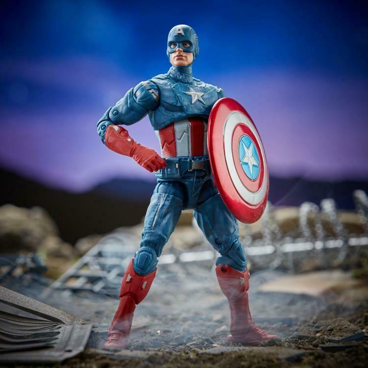 Avengers: Endgame Marvel Legends Captain America (Thor BAF)