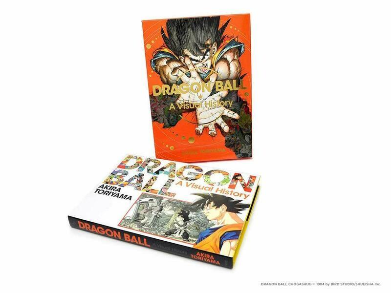DRAGON BALL VISUAL HISTORY HC ART AKIRA TORIYAMA