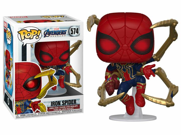Pop! Marvel: Avengers: Endgame - Iron Spider (Nano Gauntlet)