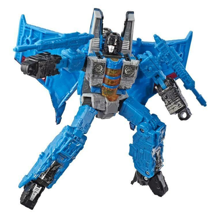 Transformers War for Cybertron: Siege Voyager Thundercracker