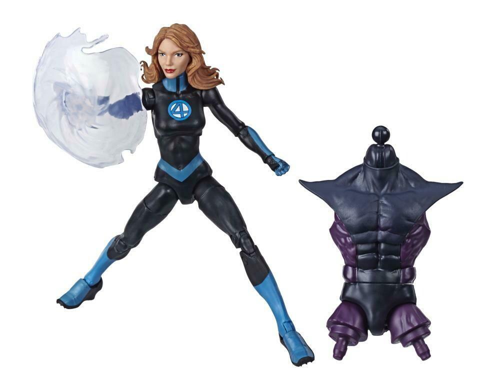 Fantastic Four Marvel Legends Marvel's Invisible Woman (Super Skrull BAF)