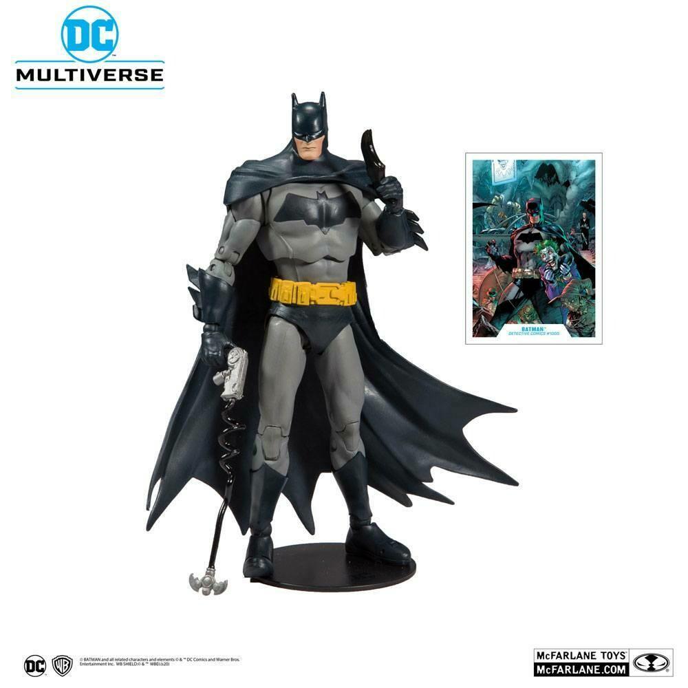 DC Rebirth Action Figure Batman (Modern) Detective Comics #1000