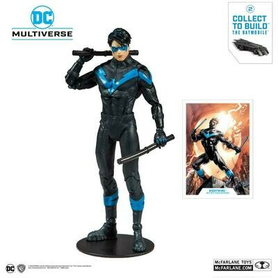 DC Rebirth Build A Action Figure Nightwing (Better Than Batman)