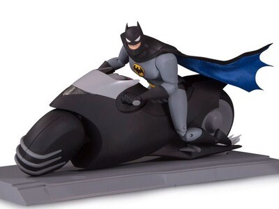 Batman: The Animated Series Batcycle With Batman Figure