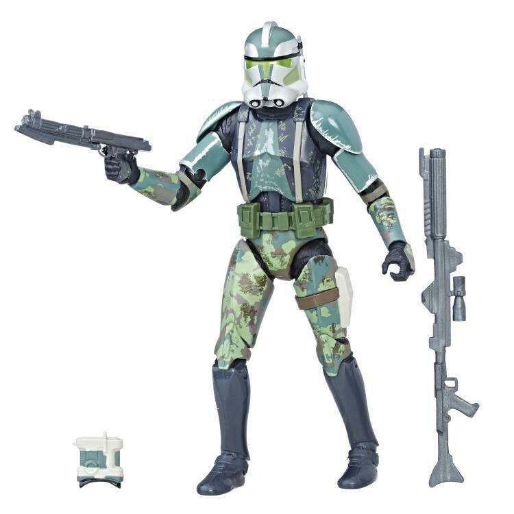 "Star Wars: The Black Series 6"" Clone Commander Gree (The Clone Wars)"
