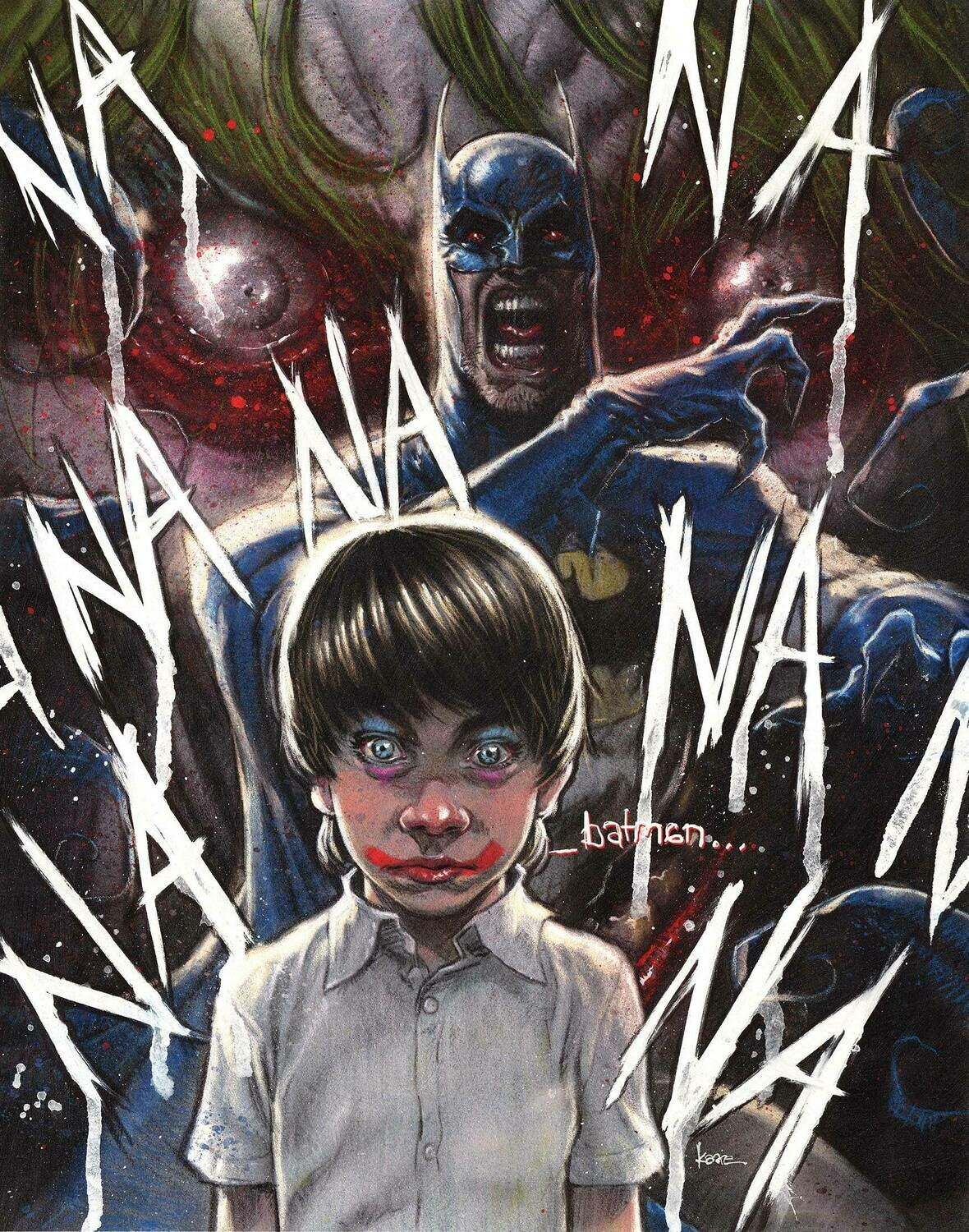 BATMAN THE SMILE KILLER #1 K ANDREWS VARIANT EDITION